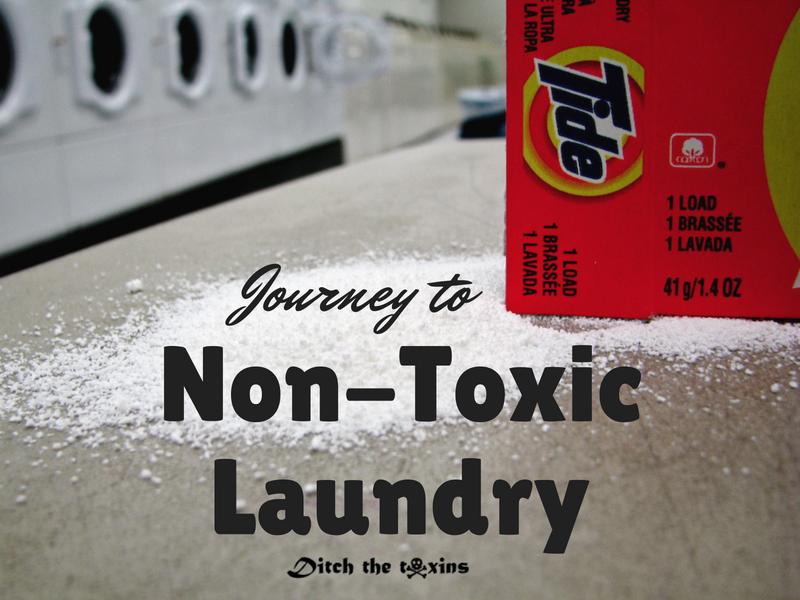 non-toxic laundry detergent